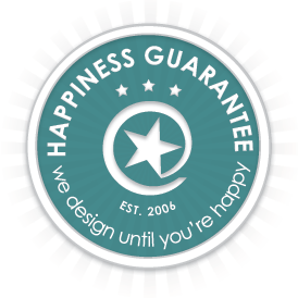 Happiness Guarantee, We Design Until You're Happy