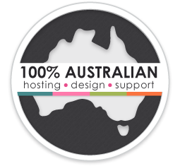 100% Australian Hosting, Design & Support