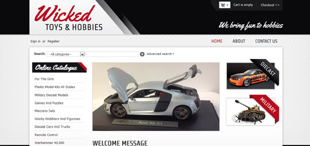 Wicked Toys & Hobbies